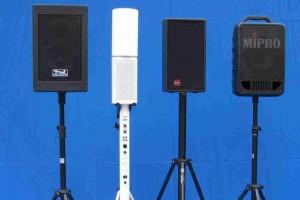 Mobile Beschallung, sponton und Evente