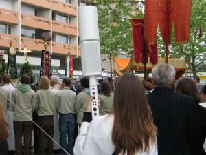 Prozessionsbeschallung von Sponton